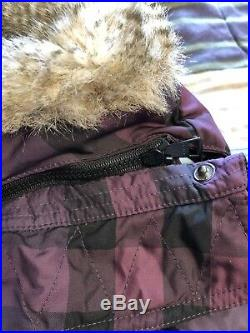 100% Authentic Burberry Baby Girl Boy Winter Warm Coat 90/52 3-4 Year