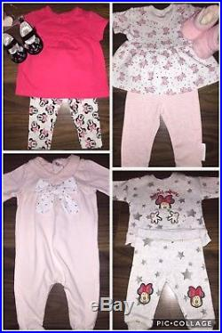 120X Baby girl NB & 0-3 months bundle Autumn Winter Spring Dresses Outfits