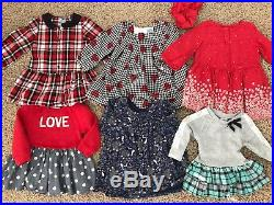 12-18 months toddler girl winter clothing lot 48 items