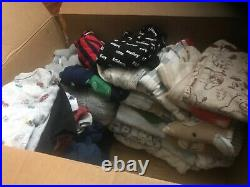 130 Piece New & Mint Condition Mixed Lot Baby Boy Clothes. Newborn, 0-3, 3-6