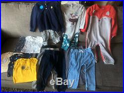 15 Piece Lot Baby Boy 24 Month 2T Clothes New Carters NWT Fall Winter Bodysuit