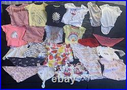 167 Joblot Baby Girls Clothes Age 0-7 Months Ted Baker, Monsoon, Primark, Next