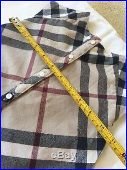 24 Months 2T Authentic Burberry Girl Winter Dress Woolen Dress Classic Check
