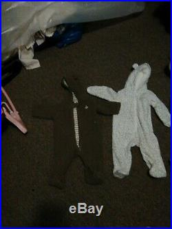 2different Carters0-9m Baby Winter One pieces for over top of clothes