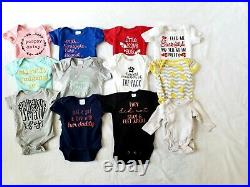 33 piece Baby girl clothes 0-3 months lot