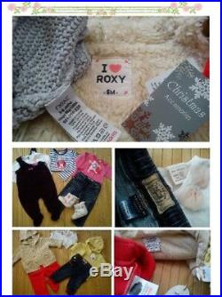 33x NEW USED AUTUMN WINTER BUNDLE CLOTHES OUTFITS GIRL 3/6 MTHS 6+MTHS4