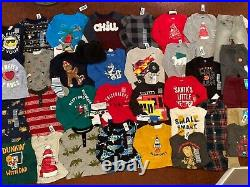 39Pc. Baby Boys Size 12-18 Months FALL WINTER Clothing Lot Outfits OLD NAVY $400