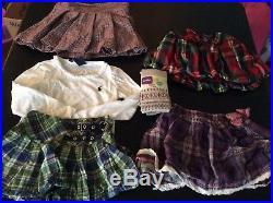 3T Girls Fall/Winter 55 Clothes Lot Sleepwear Pants Long Sleeve Shirt Skirts