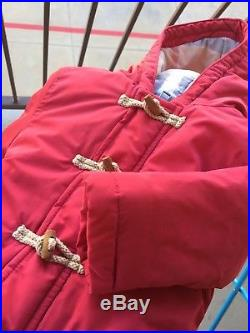 3 Months Authentic Burberry Coat Boy's Girl's Puffed Winter Jacket Hooded Check
