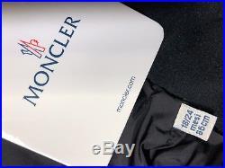 $425, MONCLER Boy's Drake Colorblock Down Jacket Black / Red Sz 18-24 Months