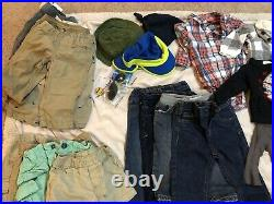 47 Piece Baby Boy Clothes Lot Size 3-6 6-9 9-12 24 Months Carters Gap Disney Osh