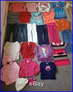 4T Toddler Girl Clothes Lot Winter Spring Disney Frozen Baby Gap Adidas