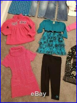 4T Toddler Girl Clothes Lot Winter Spring Disney Frozen Old Navy Baby Gap Gymbo