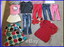 4T Toddler Girl Clothes Lot Winter Spring Disney Minnie Mouse Baby Gap Levi's