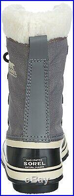 (4.5 UK, Pewter, Black) Sorel Women's Winter Carnival Snow Boots. Brand New