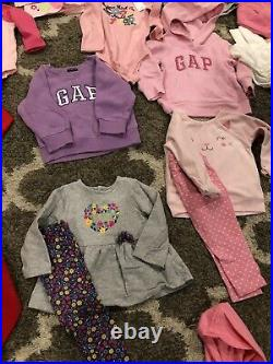53 Piece Lot Of Baby Girl Fall/Winter Clothes Size 12 Months EUC