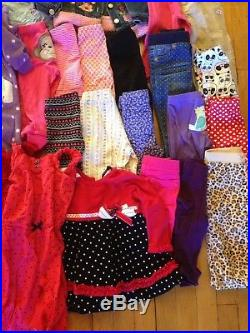 59 Piece Girls 12 Months Clothes Lot Dresses/Shirts/Pants/Coats/Sleepers/Overall