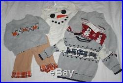 64pc Baby Boy Winter Spring clothing outfit set Lot 9-12 12-18 m Gymboree Gap