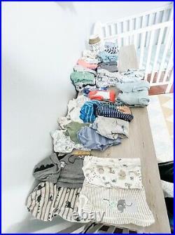 67 Piece Baby Boy Clothing Lot Size Newborn-BRAND NEWNEVER WORN