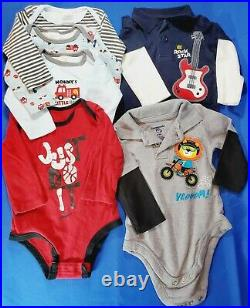6-9 Month Baby Boy Clothing Huge Lot of 56 Pieces