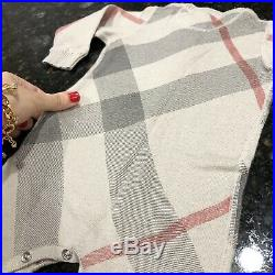 6 Months (NB-3M) Authentic Burberry Bodysuit Cashmere Boy Girl Coverall Jumpsui