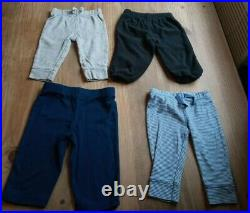 73 Piece Baby Boy Clothing Lot Sizes 3-6 & 6 Month, shirts shorts outfits oneies