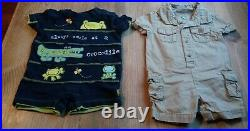 74 Piece Baby Boy Clothing Lot Sizes 3 & 3-6 Month. Outfits shorts, outfits, etc