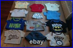 75 Piece Baby Boy Clothing Lot Sizes 3 & 3-6 Month. Outfits sleepers shorts etc