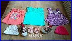 75 Piece Baby Girl Clothing Lot Sizes 0-3 & 3 Months sleepers outfits oneies etc
