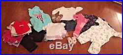 75 Piece Lot Designer Newborn Baby Girl- 6 Mon Winter Clothing Plus Bonus Items
