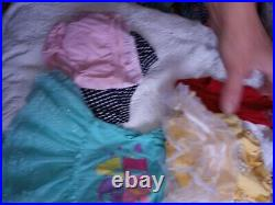 75 pieces of nice nb-12 months baby girl clothes most never worn, 3 NWT outfits