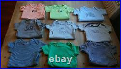 78 Piece Baby Boy Clothing Lot Sizes 3 & 3-6 Month. Outfits sleepers, shirts etc