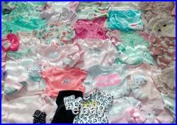 Adorable Baby Girl Newborn, 0-3 3-6 mo Winter Clothes Lot Outfits EUC