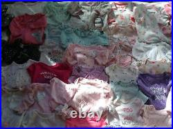 Adorable Baby Girls sz Newborn 0- 3 month Clothes Bodysuits Outfits Pajama Lot
