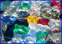 Adorable HUGE Baby Boy Newborn sz 0-3 6 WINTER Spring Outfits Sets clothes lot