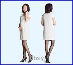 Anti-Radiation Protective Dress Silver Fiber Pregnancy Clothes Baby light Grey