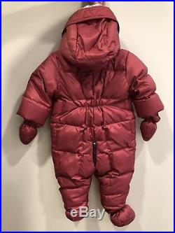 Authentic Burberry Girls' Skylar Snowsuit Size 6 months +FREE LITTLE GIFT