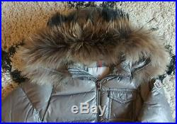 Authentic Moncler Baby Boy/Girl Designer K2 Coat With Fur Trim 2 Years Excellent