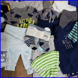 BABY BOY clothes 0-3 months bundle lot (30pc)
