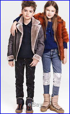 BRAND NEW WITH TAGS H&M x ALEXANDER WANG KIDS FUR COAT (Size 4-5Y)