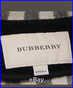 BURBERRY check montgomery duffle wool coat jacket kids age 6m brand new
