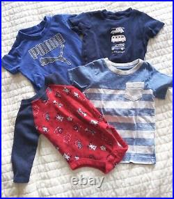 Baby Boy Clothes 12-18 Month LOT of 31 EUC POLO KEN COLE CARTERS PUMA OLD NAVY