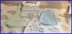 Baby Boy Clothes Lot Mostly Carters Newborn 0-3 Months