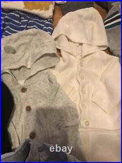 Baby Boy Clothes NB 0-3M Lot Of 157+ Pieces