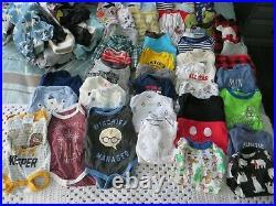 Baby Boy Nb & 0-3 Months 80 Piece Clothing Lot Carter's Disney Harry Potter
