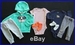 Baby Boy Newborn 0/3 3 3/6 6 Months Fall Winter Outfits Sets Clothes Lot