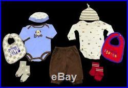 Baby Boy Newborn 0-3 3-6 Month Carter GAP Nike Jordan Winter Oufits Clothes Lot