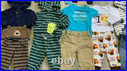 Baby Boy Newborn lot/35 SZ 0-3M & 3-6M Fall Winter Clothing Fits Carter's GAP+++
