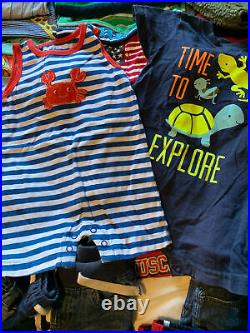 Baby Boy Toddler Clothes Lot 12-18 18-24 Months 120 Pieces