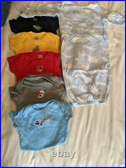 Baby Boy's Mixed Seasons Clothes Outfits Size NB 0/3 Months 48 piece lot